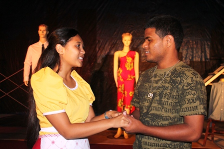 Lulani Ritok in West Side Story